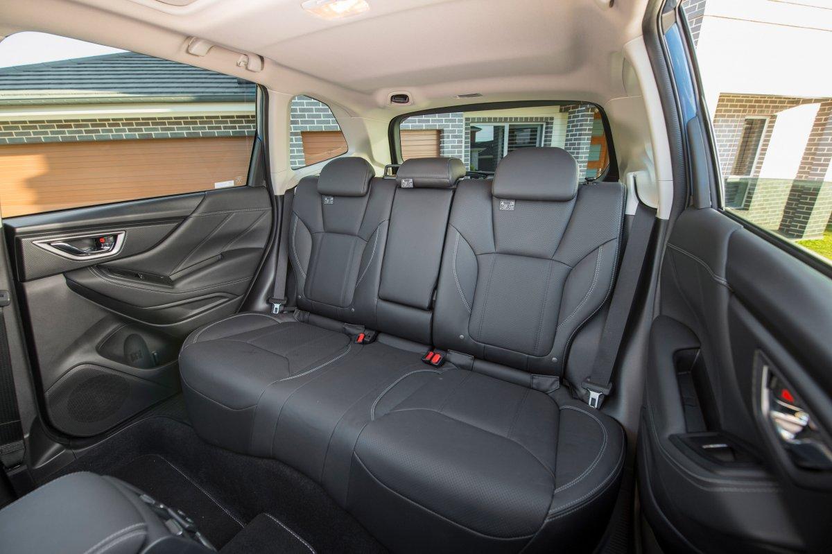 my19 subaru forester rear seats. Black Bedroom Furniture Sets. Home Design Ideas