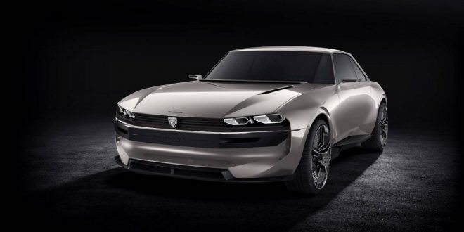 Peugeot revives 504 Coupe with e-Legend Concept