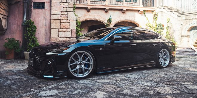 Wald International gives Lexus LS an extra dose of aggression