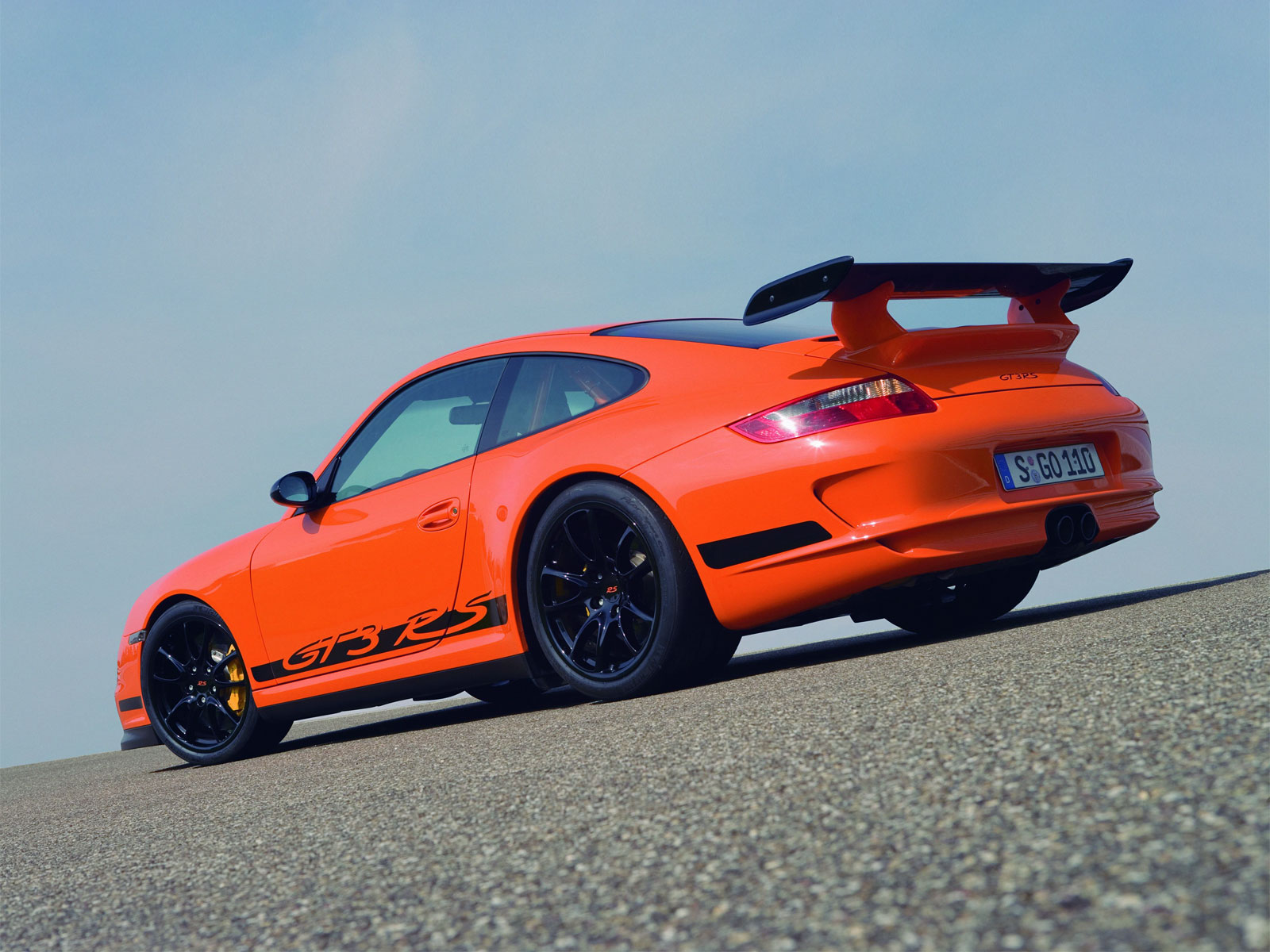 Porsche 911 Gt3 Rs Is 2010 Best Driver S Car Forcegt Com