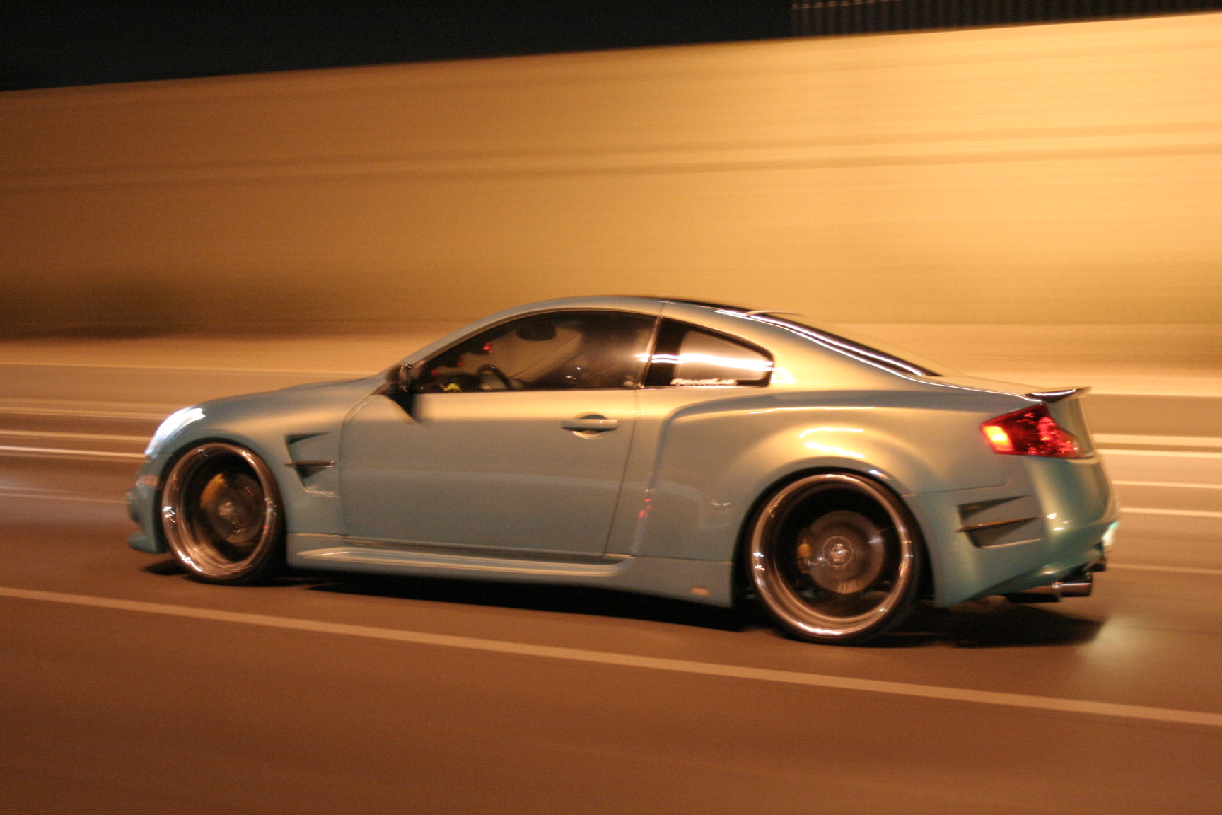 Widebody Infiniti G on Infiniti G35 Brakes