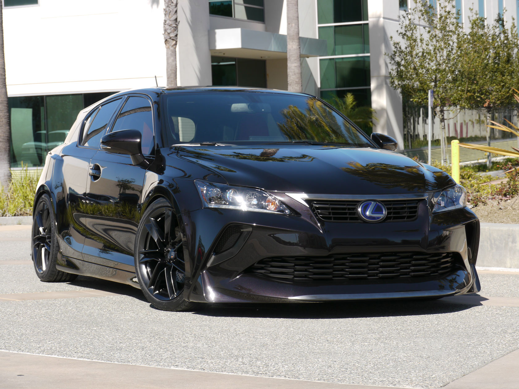 Lexus Tuning Widebody Ct 200h Project Ct By Five Axis