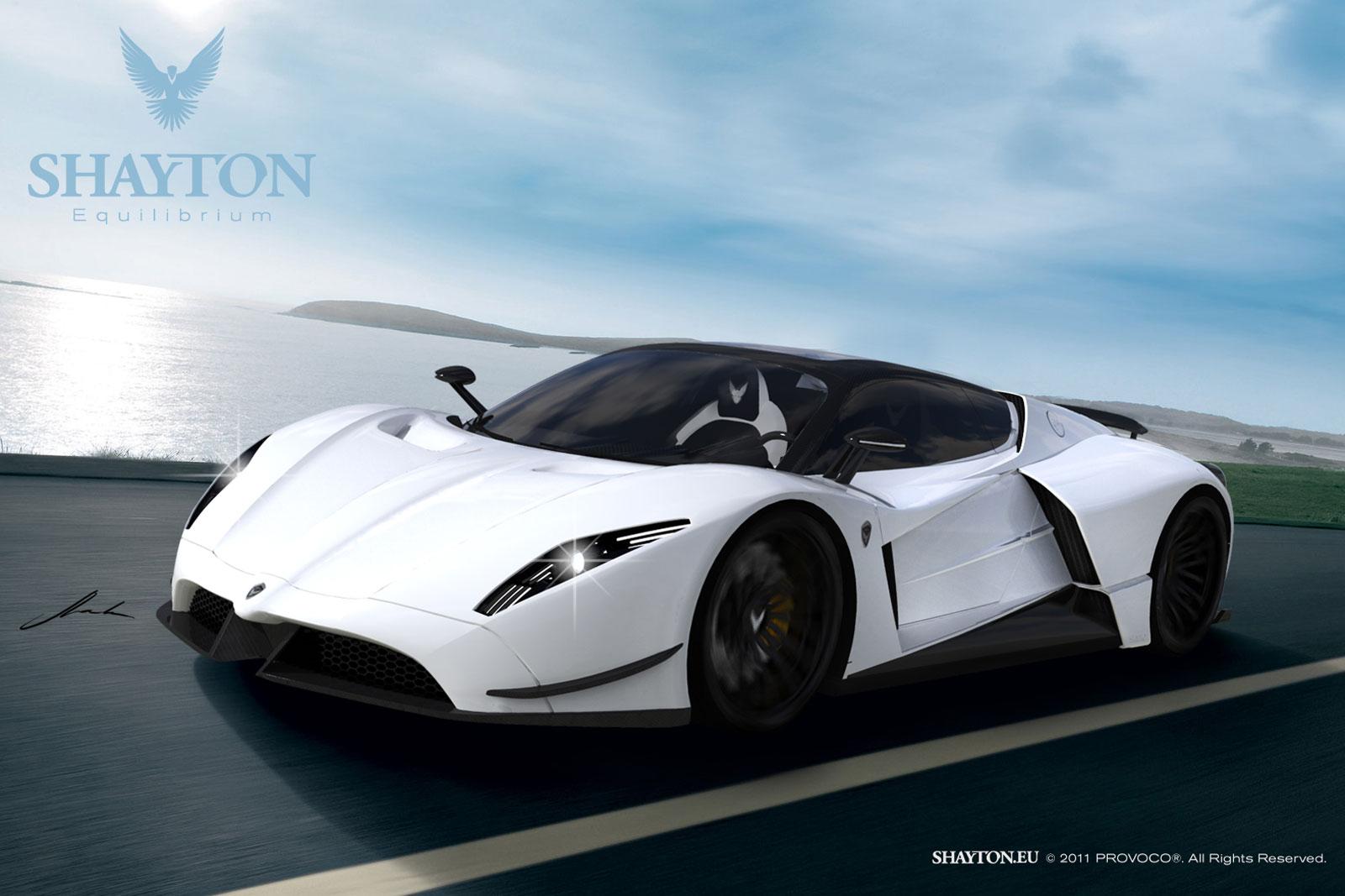 Shayton Equilibrium - New Slovenian Supercar - ForceGT.com
