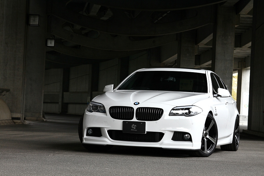 3d Design Releases Aero Kit For Bmw F10 5 Series M Sport
