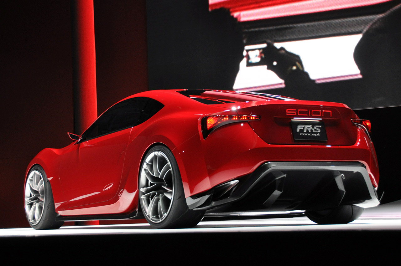 2011 New York Auto Show Scion Fr S Coupe Concept
