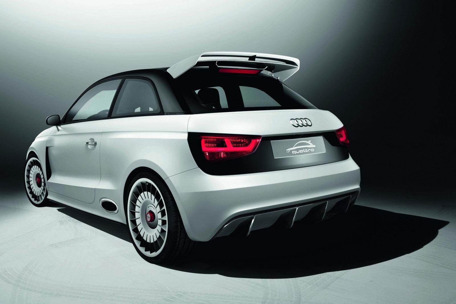 Audi A1 Clubsport Quattro An R8 Fighting Supermini