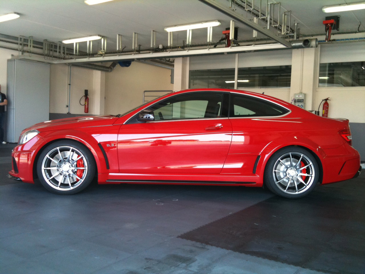 New 2012 Mercedes C63 AMG Black Series Coupé Exposed ...