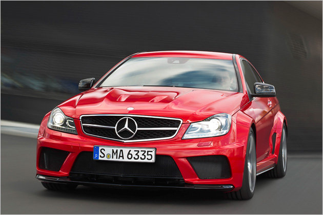 Official Photos Mercedes C63 Amg Coupe Black Series