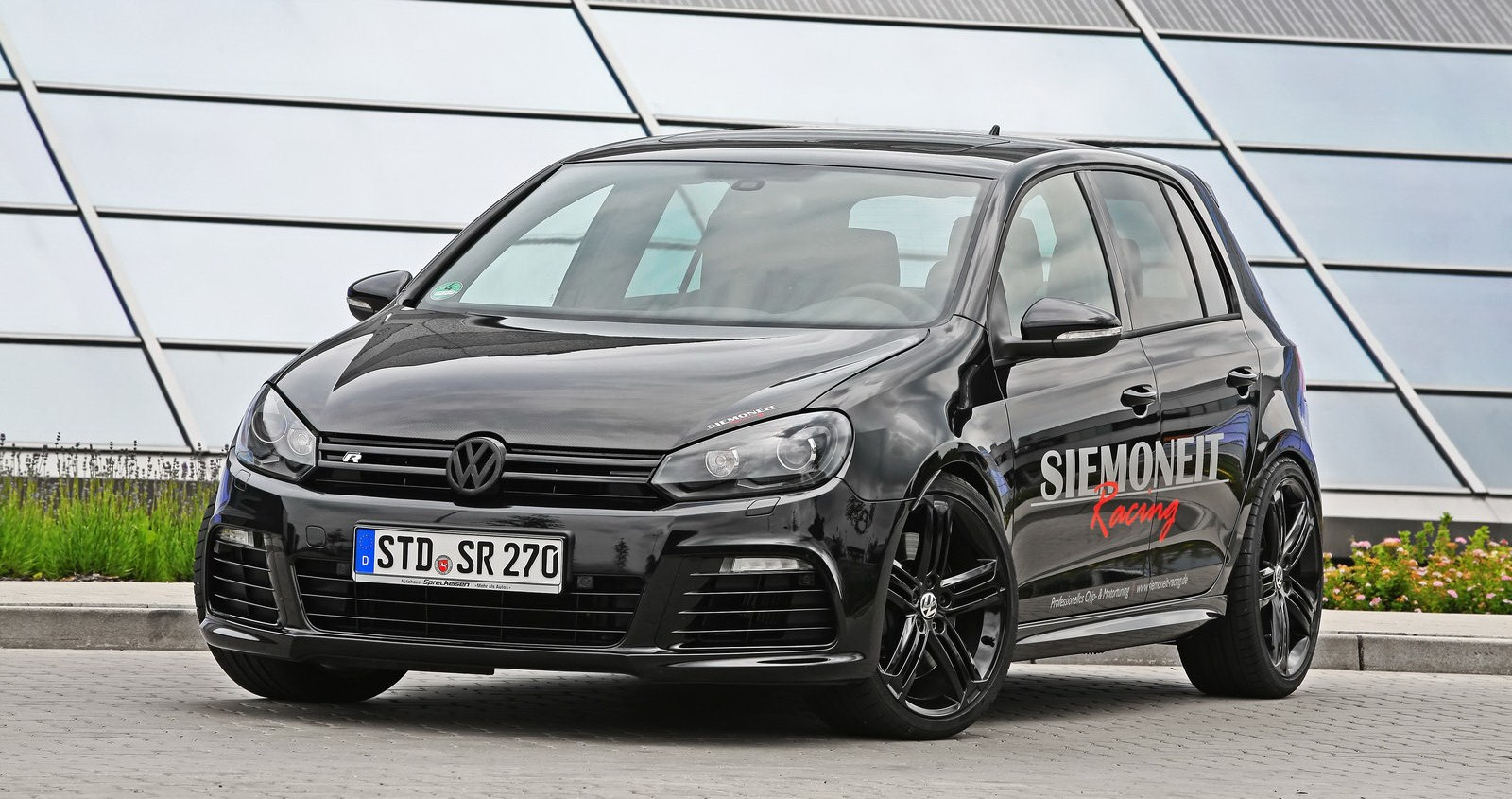 vw golf r tuned by siemoneit racing with 530hp. Black Bedroom Furniture Sets. Home Design Ideas