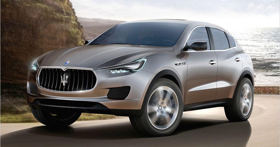 Maserati Kubang Concept SUV