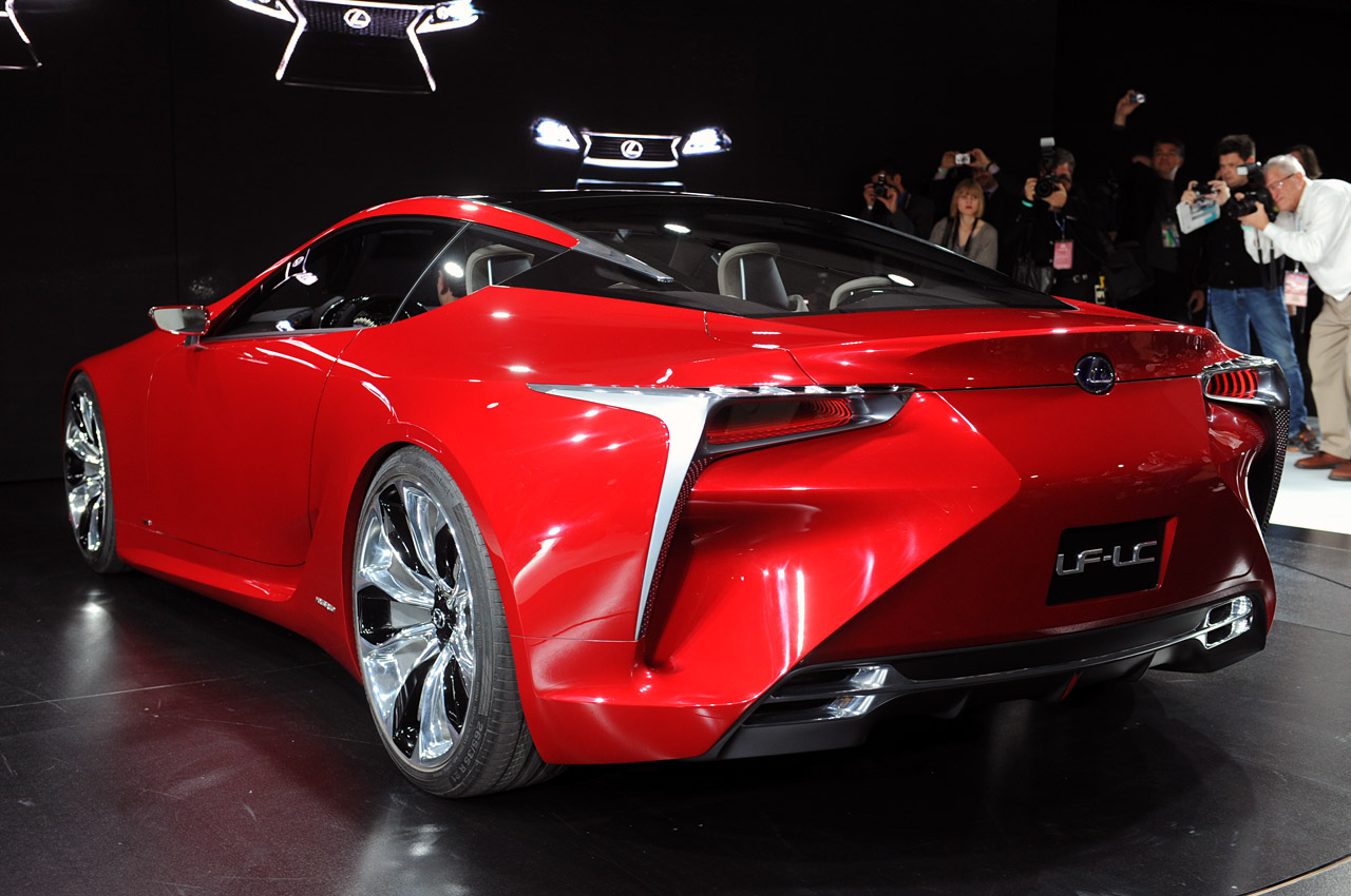 First Look: Lexus LF-LC Breaks Cover at Detroit - ForceGT.com