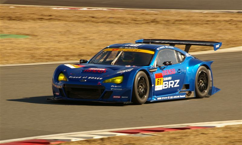 First Team Subaru >> Subaru Tests BRZ GT300 Racer Ahead of 2012 Super GT ...