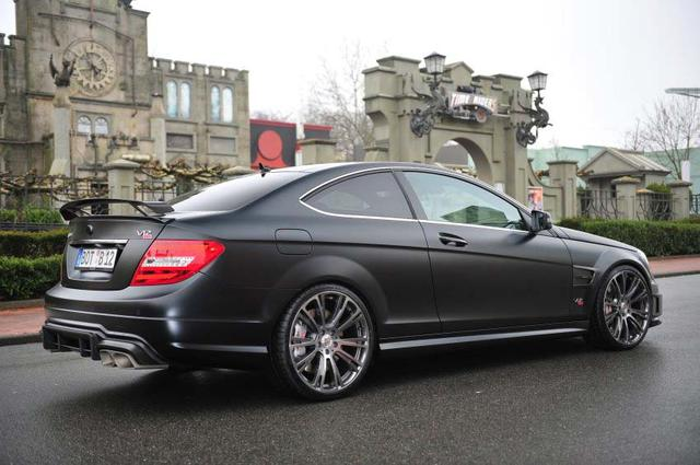 2012 brabus bullit mercedes benz c class coup. Black Bedroom Furniture Sets. Home Design Ideas