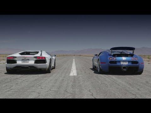 Video Quarter Mile Matchup With Bugatti Veyron Lamborghini