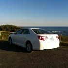 Toyota Camry Review – 2012 Altise, Rear