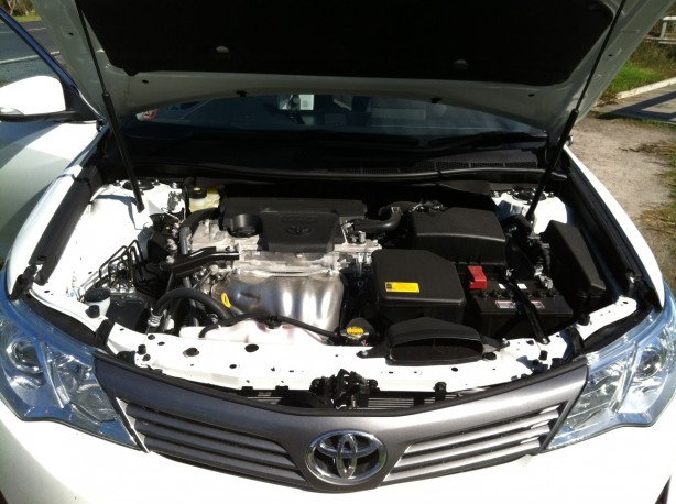 Toyota Camry Review – 2012 Altise, Engine