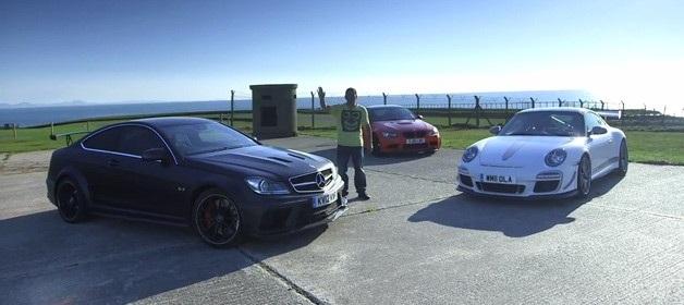 Video Bmw M3 Gts Vs Mercedes C63 Amg Vs Porsche 911 Gt3