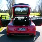 Honda CR-Z Review – 2012 Manual Sport, Open Rear Door