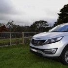 Kia Sportage Review - 2012 SLi Diesel Automatic, Side Front Shot 2