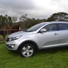 Kia Sportage Review - 2012 SLi Diesel Automatic, Driver Side