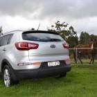Kia Sportage Review - 2012 SLi Diesel Automatic, Passenger Rear