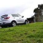 Kia Sportage Review - 2012 SLi Diesel Automatic, Low Side Shot