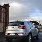 Kia Sportage Review - 2012 SLi Diesel Automatic, Side Rear