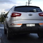 Kia Sportage Review - 2012 SLi Diesel Automatic, Rear
