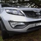 Kia Sportage Review - 2012 SLi Diesel Automatic, Grill