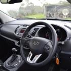 Kia Sportage Review - 2012 SLi Diesel Automatic, Steering Wheel