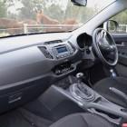 Kia Sportage Review - 2012 SLi Diesel Automatic, Interior Side Shot