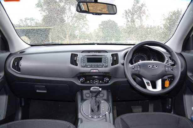 Kia Sportage Review - 2012 SLi Diesel Automatic, Interior Shot
