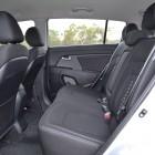 Kia Sportage Review - 2012 SLi Diesel Automatic, Rear Seats