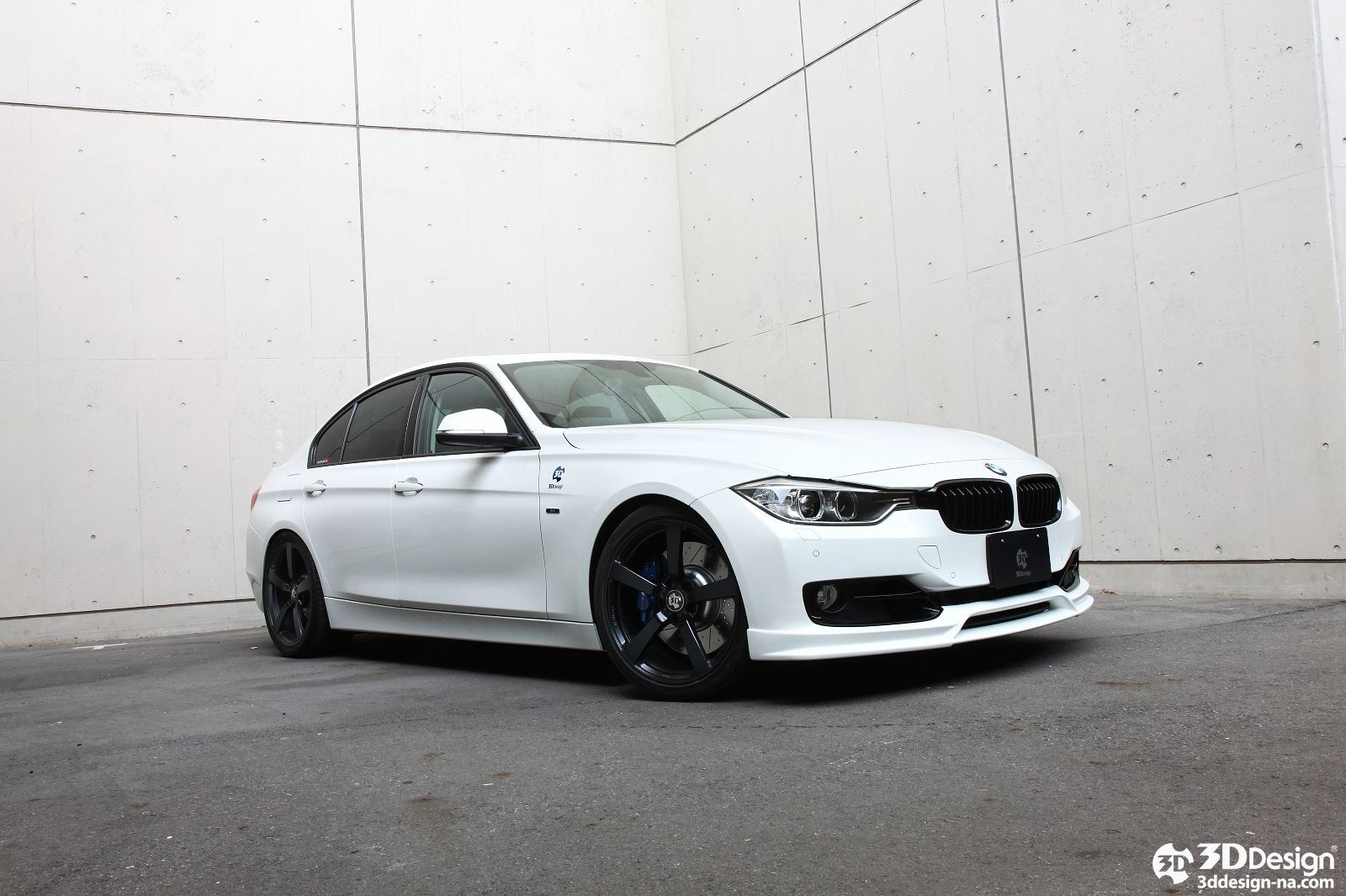 3d Design Offers Aero Kit For F30 Bmw 3 Series Forcegt Com