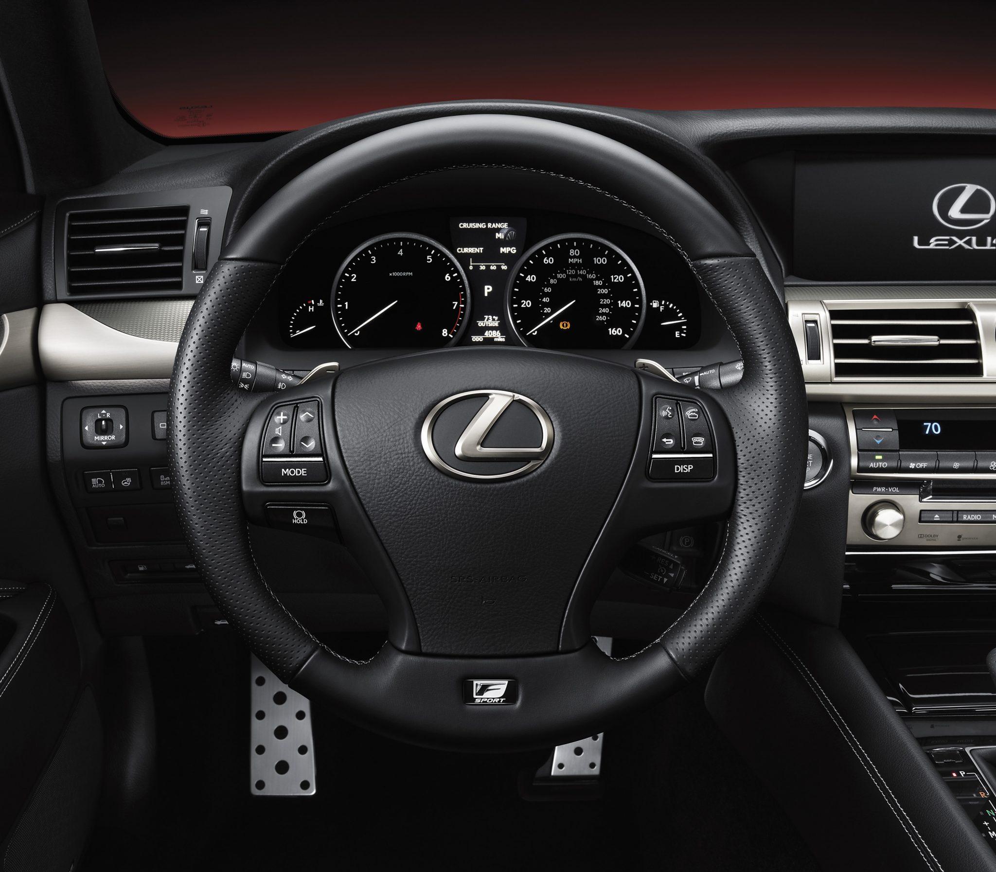 2013 Lexus Es Interior: 2013 Lexus LS Range Unveiled