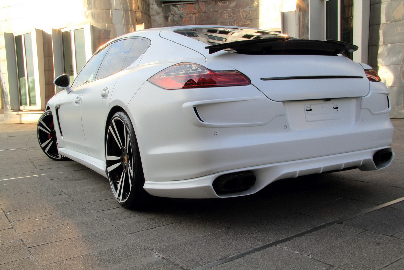 501 Hp Porsche Panamera Gts Tuned By Anderson Germany
