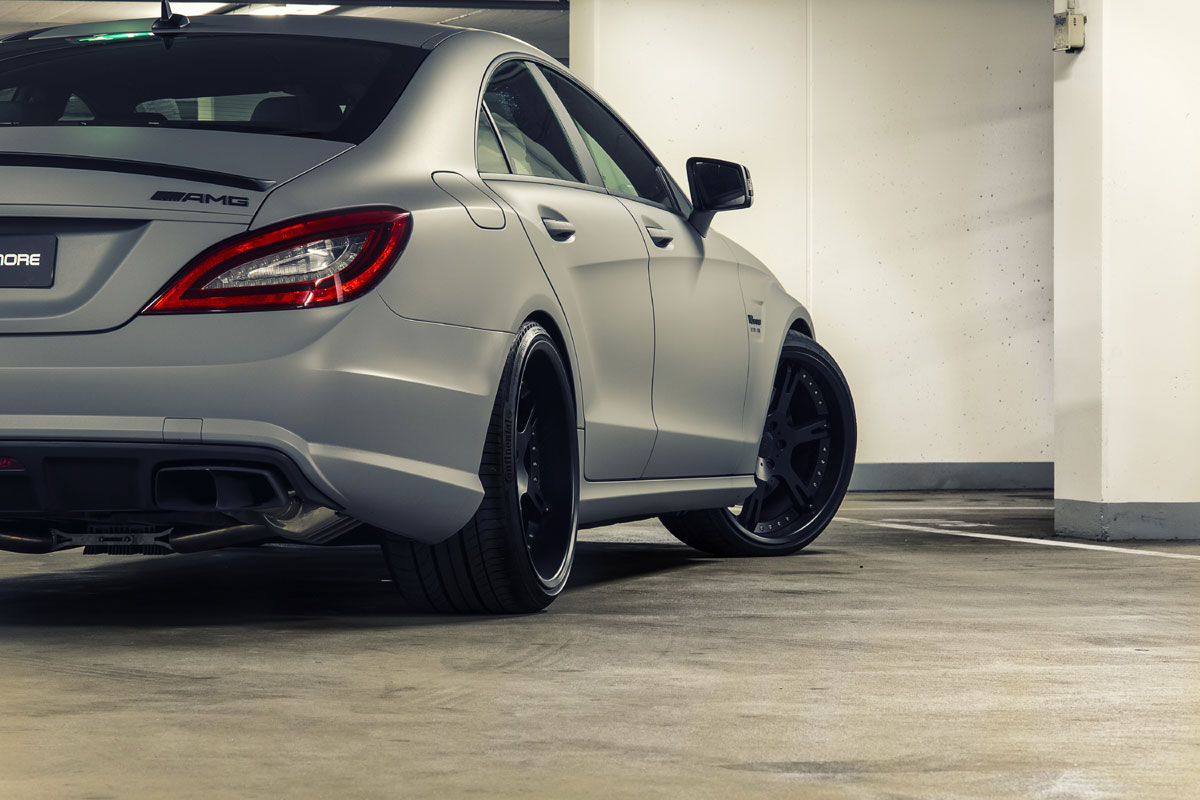 Wheelsandmore Quot Seven 11 Quot Mercedes Cls63 Amg Stage 3 Tuning