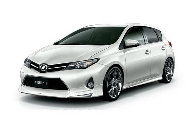 2013 toyota corolla auris gets trd modellista upgrade. Black Bedroom Furniture Sets. Home Design Ideas