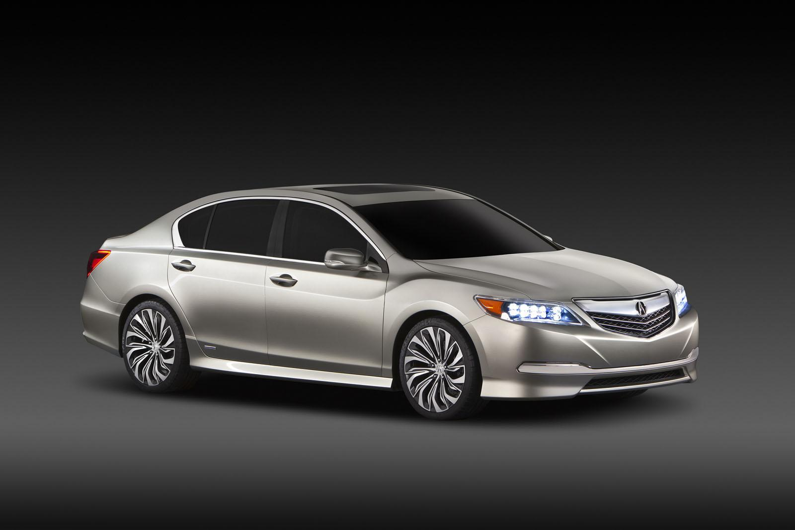 2014 acura rlx previews next honda legend. Black Bedroom Furniture Sets. Home Design Ideas
