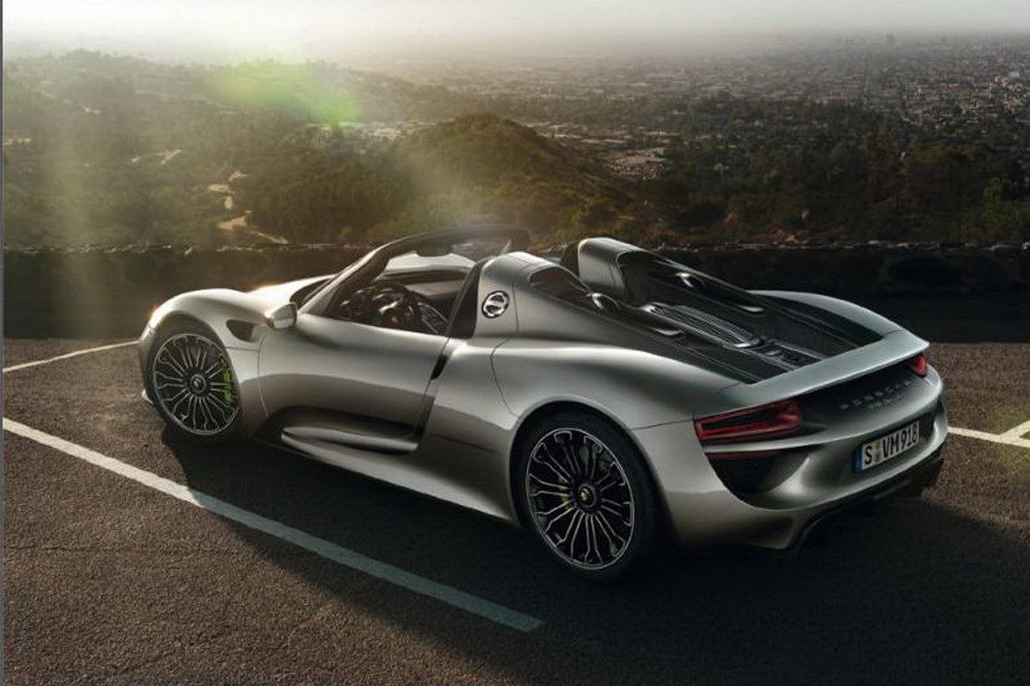Porsche Charges $65,000 For Special Paint On 918 Spyder