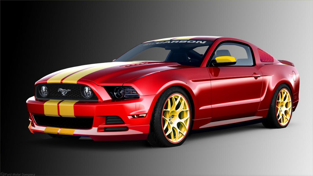 ford tuning customised mustangs at sema. Black Bedroom Furniture Sets. Home Design Ideas