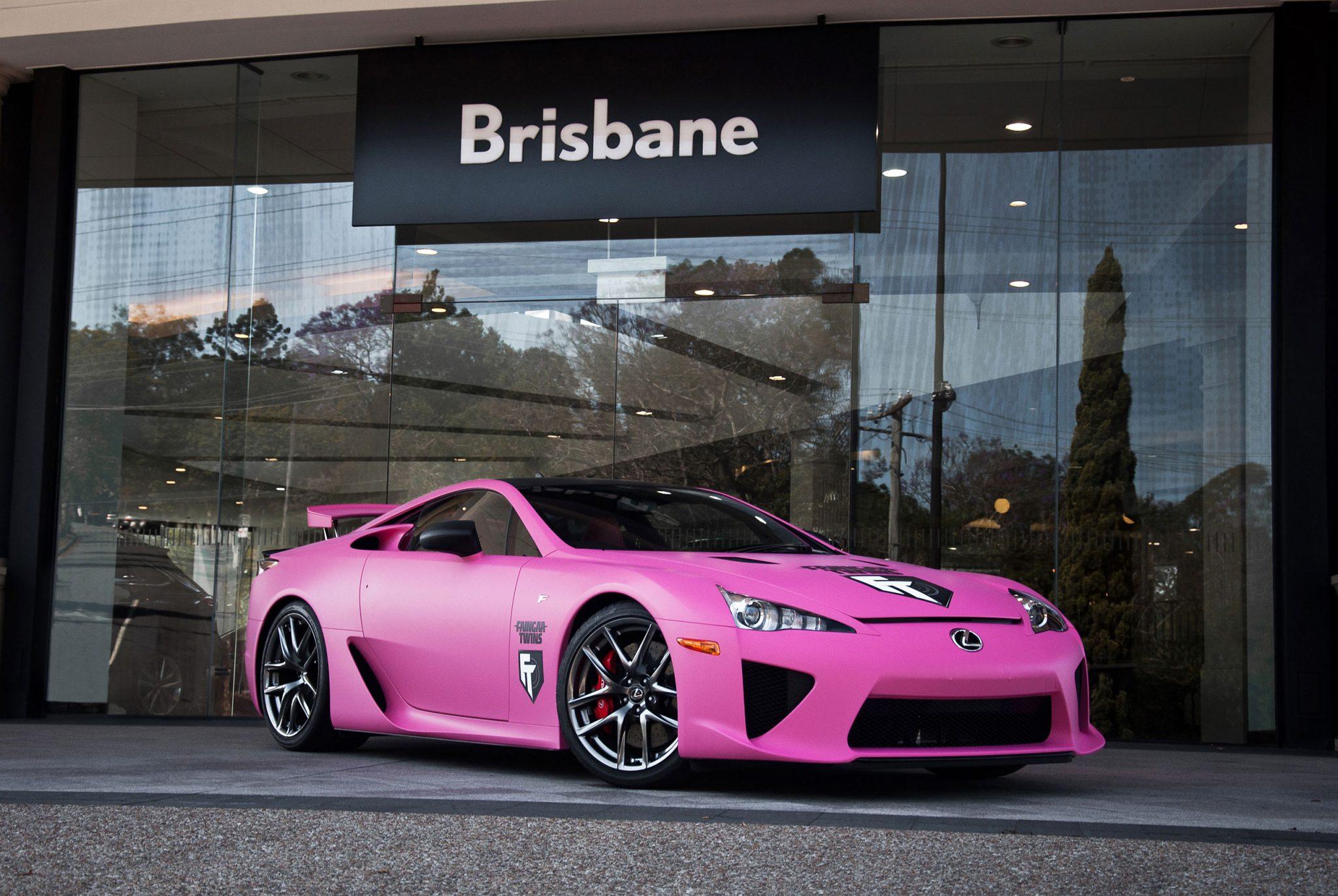 worlds  matte pink lexus lfa forcegtcom