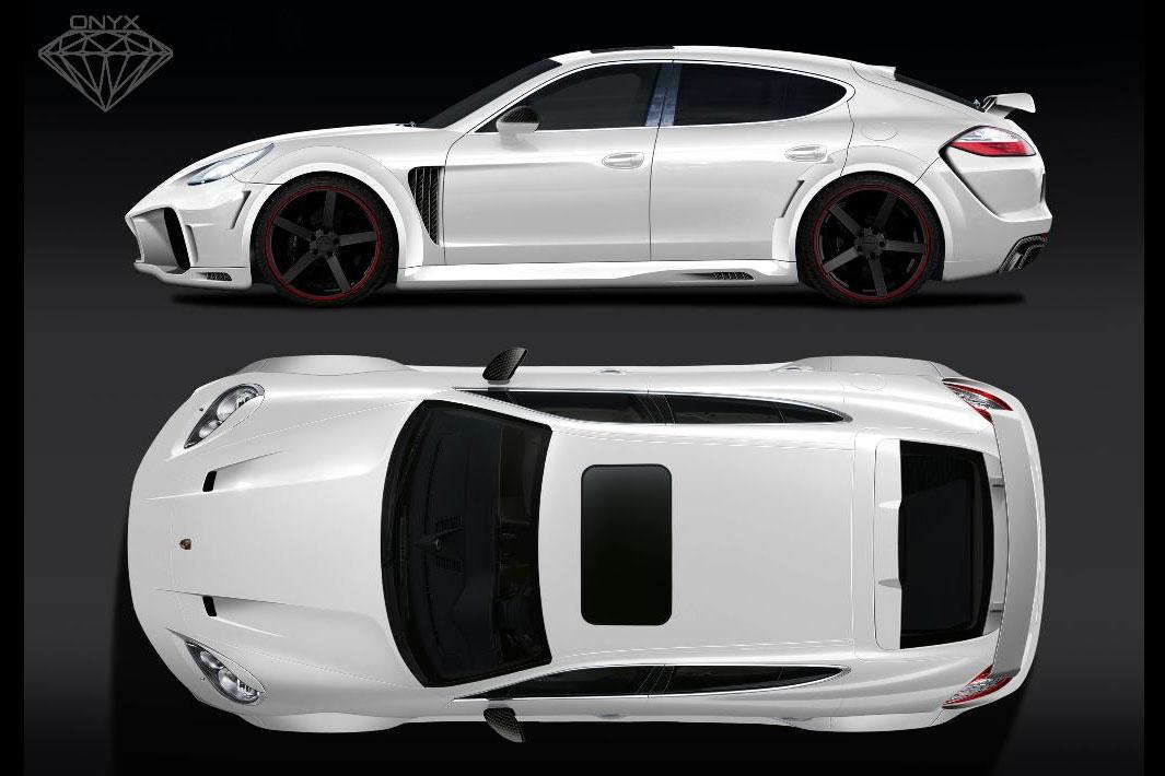 Porsche Tuning Onyx Concept S Widebody Panamera