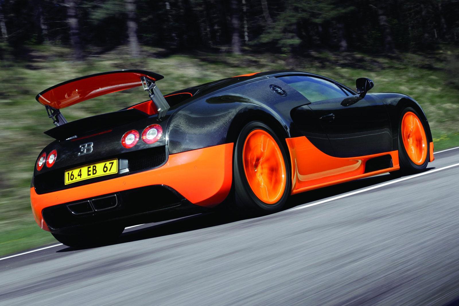 Luxury Vehicle: Bugatti Working On New Veyron With 1,600HP