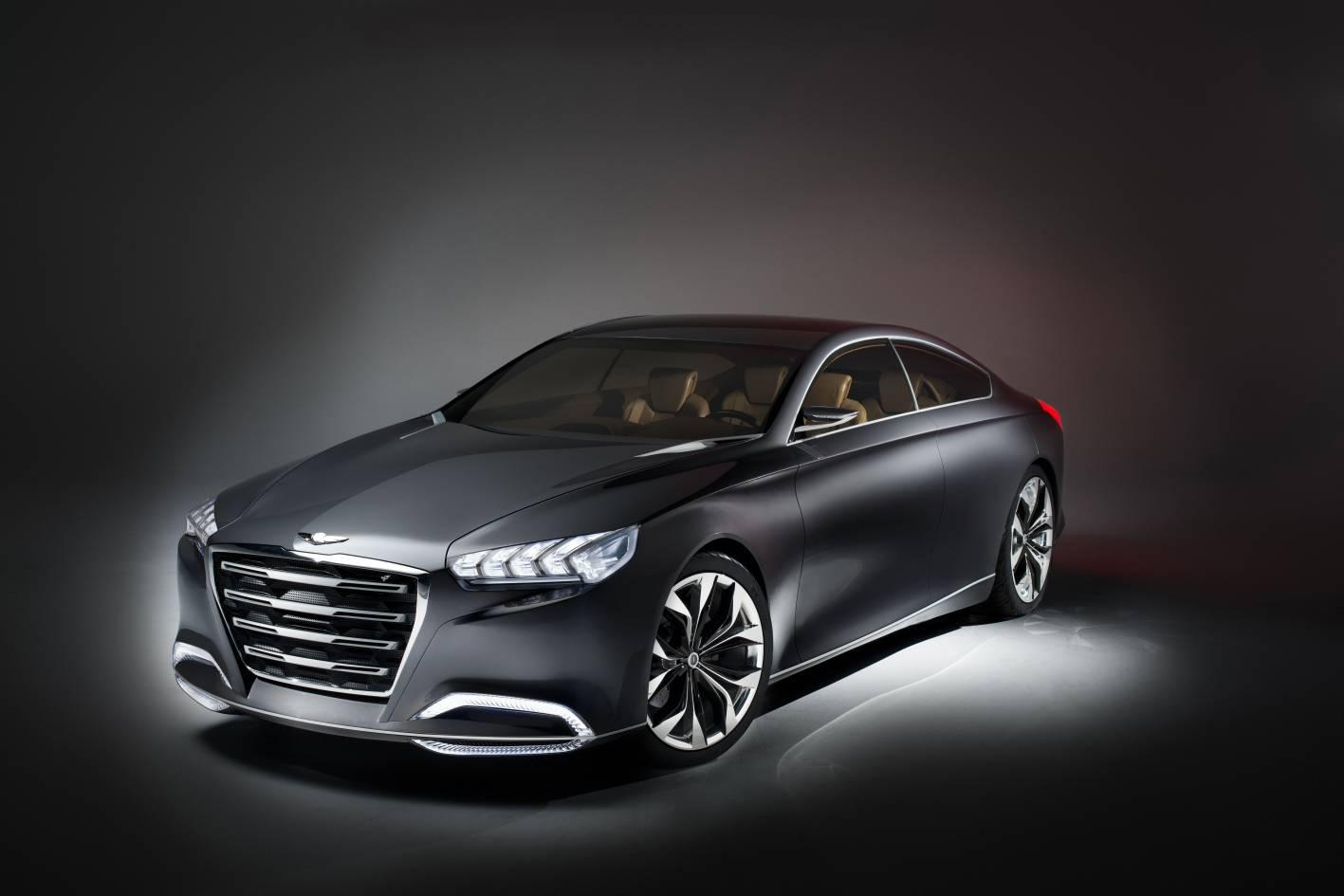 Hyundai HCD 14 Genesis Concept Hints At Future Design