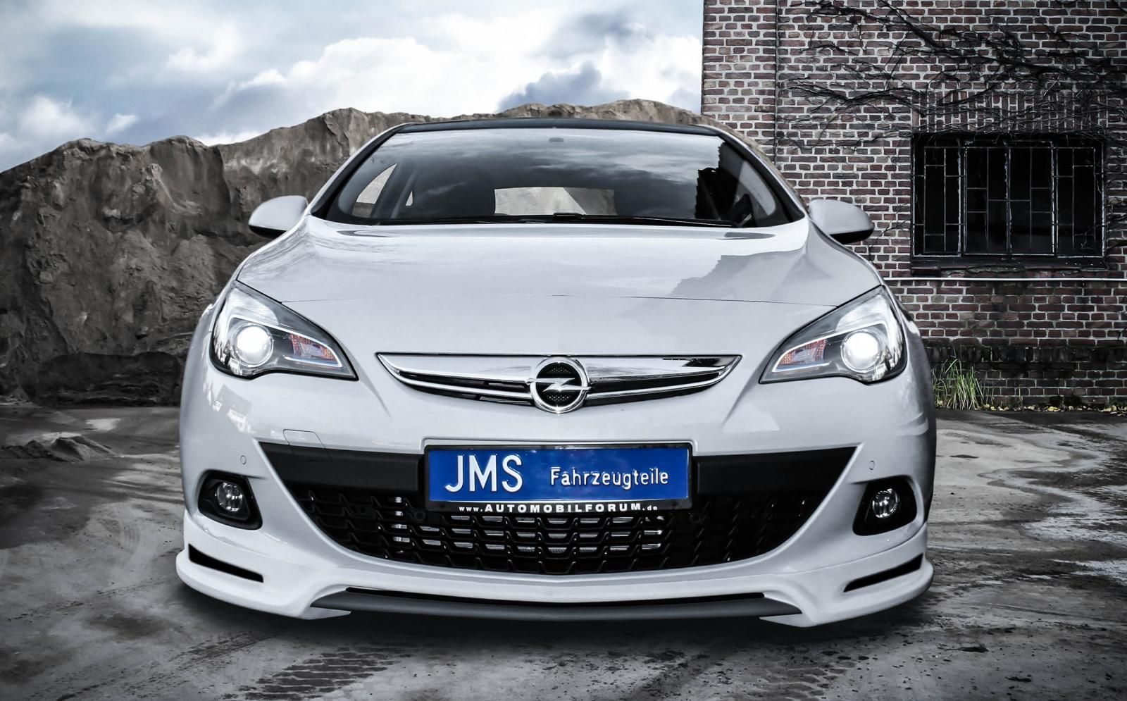 Jms Soups Up Opel Astra Gtc Sport Forcegt Com