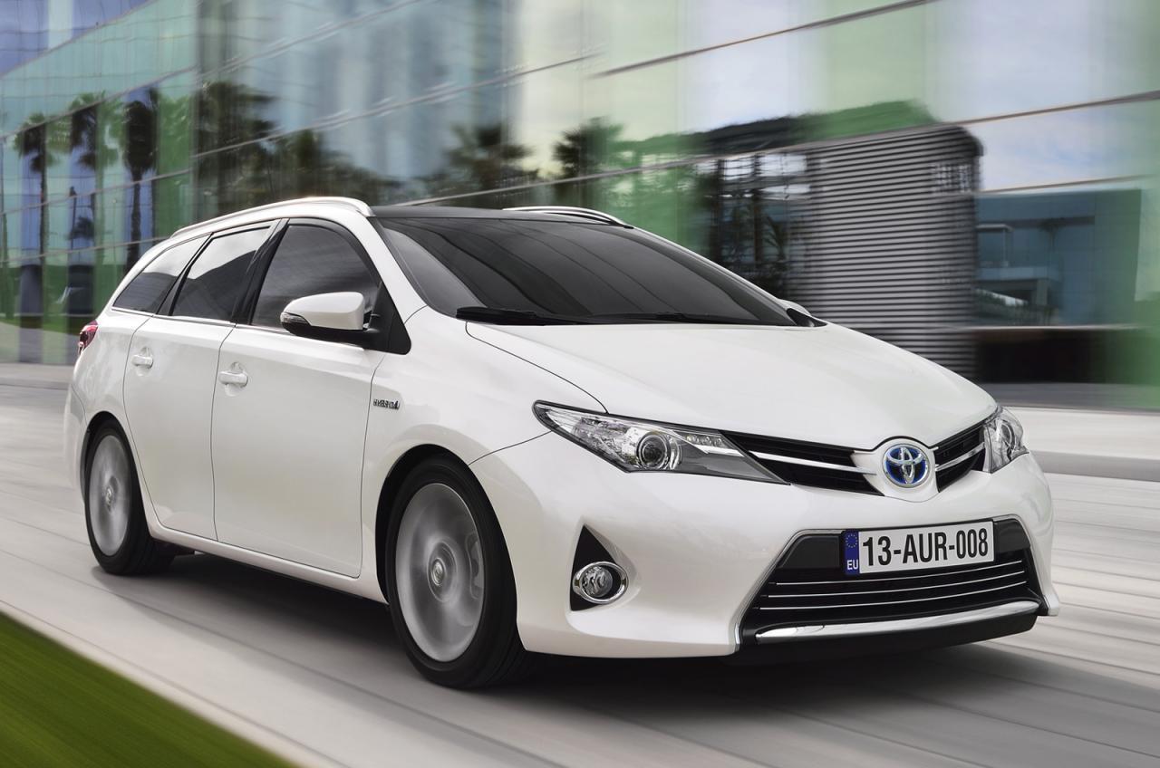 Toyota Cars - News: Corolla/Auris Sports Touring
