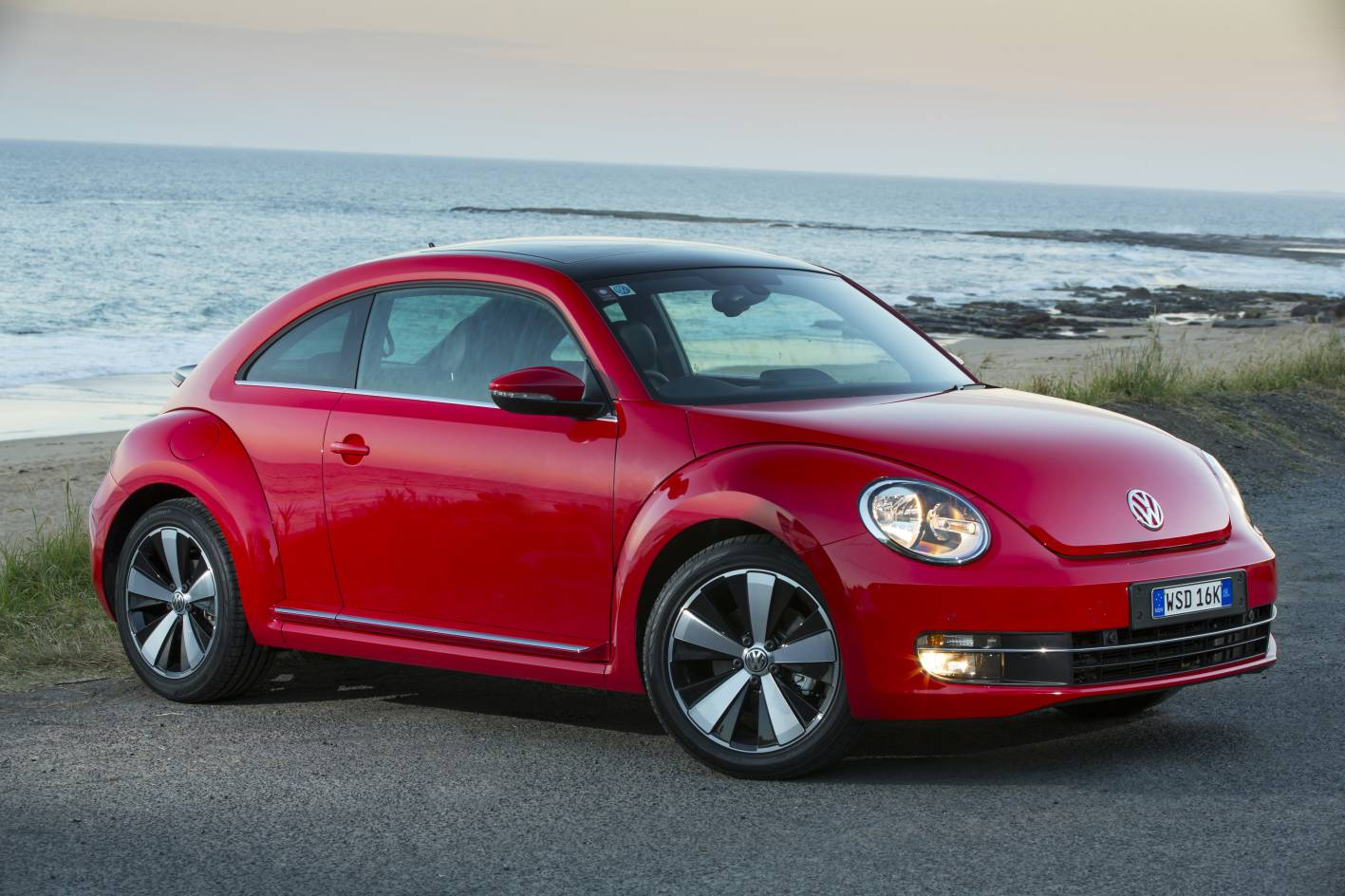 Vw Beetle on Vw Beetle Dune Concept