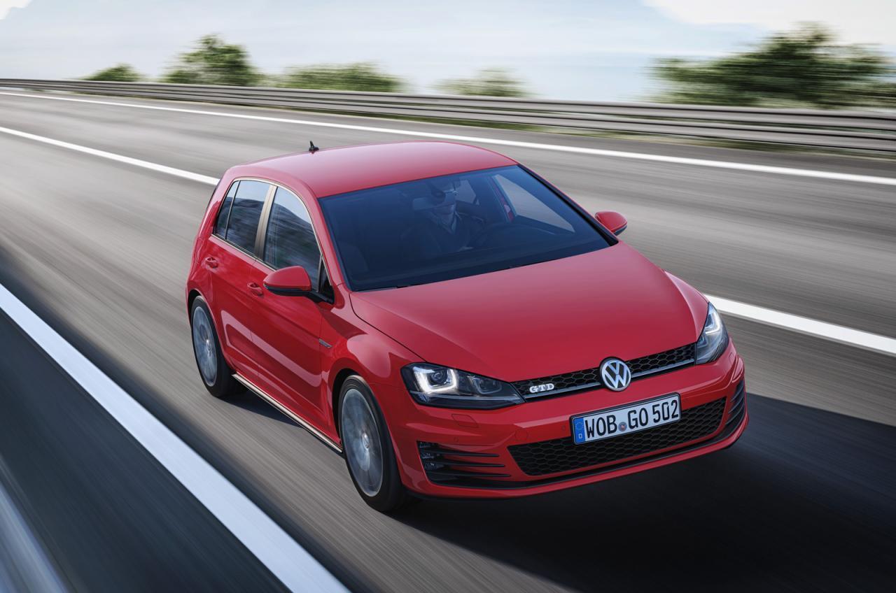 Volkswagen Cars - News: 2013 Mk7 Golf GTD uncovered  Volkswagen Cars...