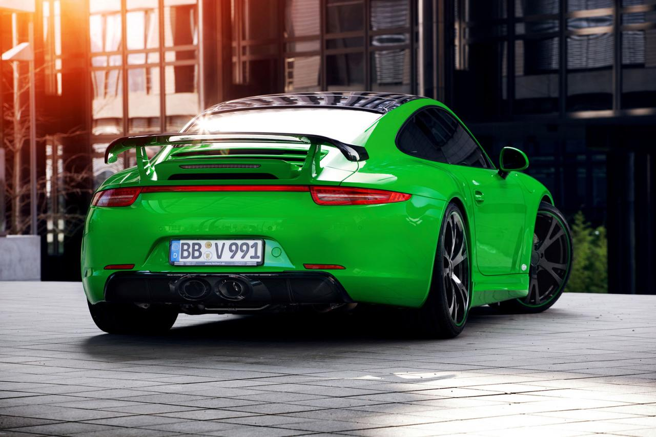 Porsche Tuning 911 Carrera 4s By Techart